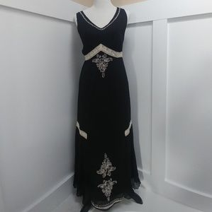 Beautiful Crepe Vintage Boho Dress!